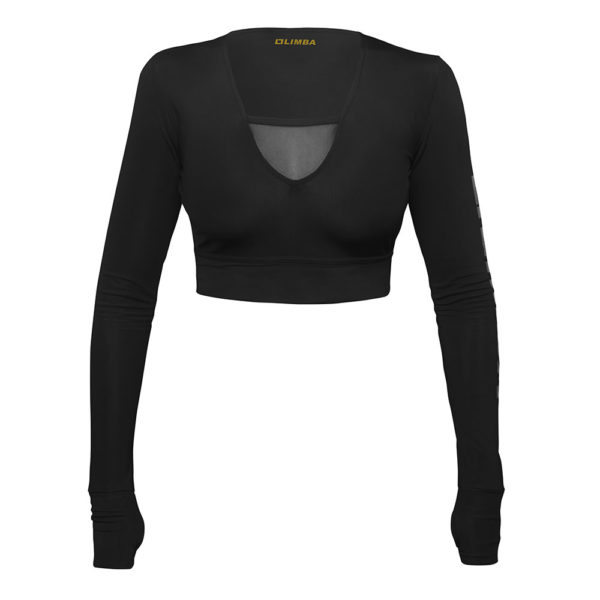 LIMBA Ladies Long Sleeve Crop