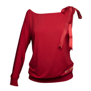 LIMBA Ladies Single Sleeved Top - Red
