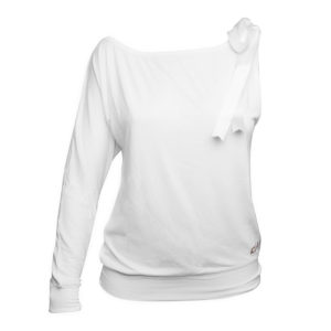 LIMBA Ladies Single Sleeved Top - White